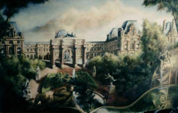 Atelier de d coration murale paris - Technique de peinture murale ...